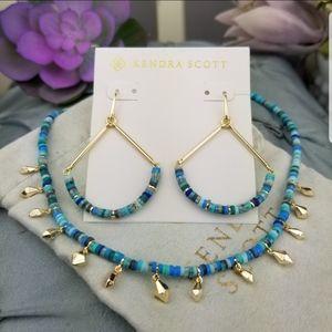 Kendra Scott, Reece, Sea green, Necklace